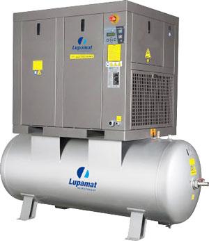 компрессор lupamat серии CRT с ременным приводом